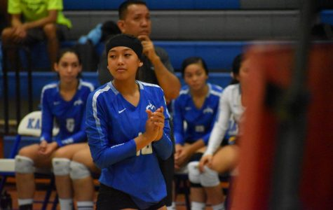 Girls Volleyball VS. Kailua