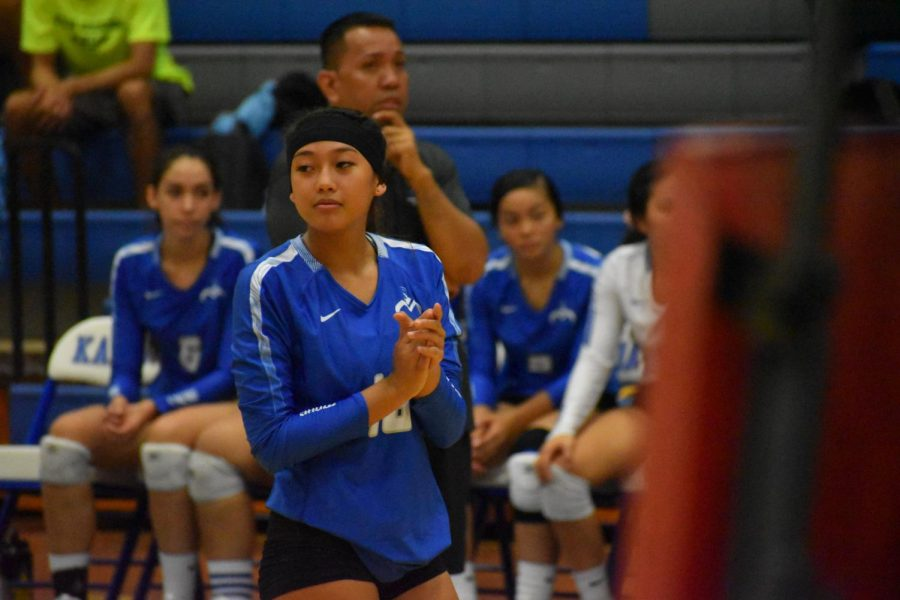 Girls Volleyball VS. Kailua