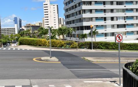 Ala Napunani Crosswalk Removed