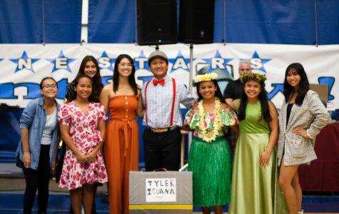 Left to right: Taylor Seguerre, Ayra Mae Narciso, Mia Hamp, Sanja Denton, Tyler Laguana, Caitlain Marie Julian, Samantha Berayuga & Kennedy Manamtam.