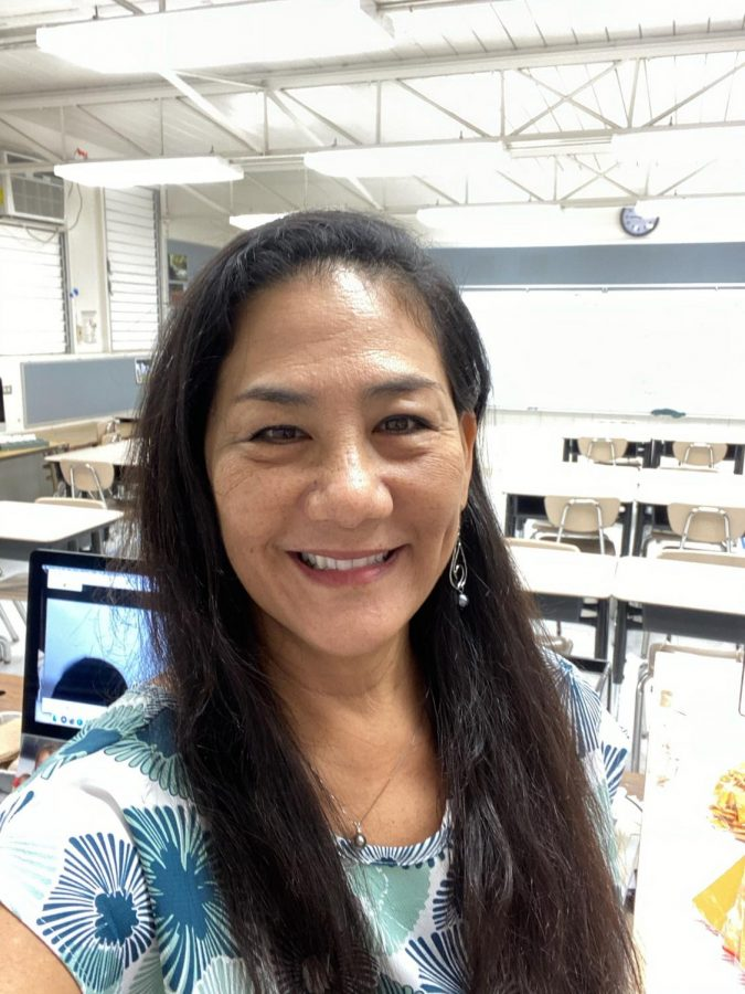 Mrs. Calistro teaches Media Learning Center and Social Studies. She has been working at Moanalua for 31 years.