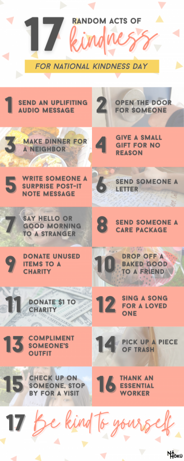 February 17th is National Random Acts of Kindness Day.