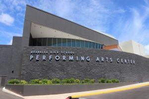 Moanalua's performing arts center made its grand reveal on March 12th.