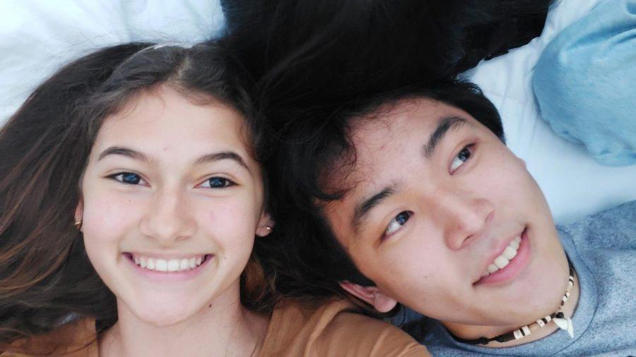 Mia Hamp and Dylan Morikawa