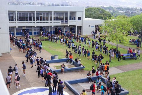 Hungry students face long lunch lines